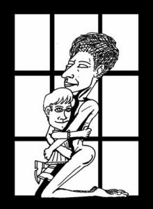 Tiziana madre (alta e soda come sarà nella prossima vita) con Tizianeda figlia è del bravo assai  Domneico Bafometto Loddo